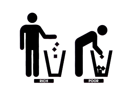 Rich And Poor PNG - 169813