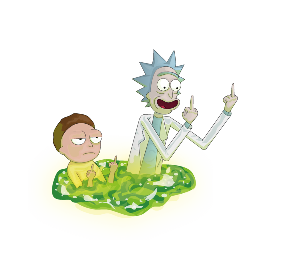 Rick and morty Png by Lalingla PlusPng.com  - Rick And Morty PNG