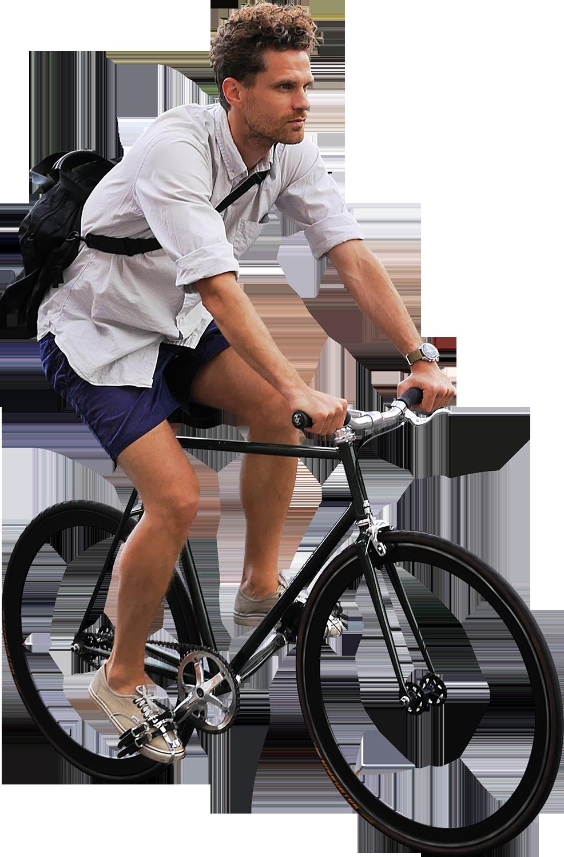 Riding Bikes PNG