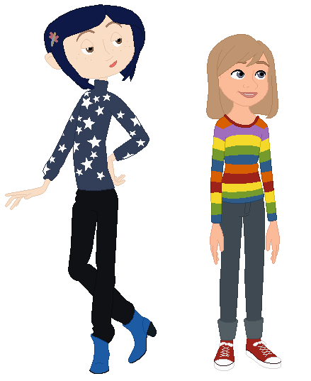 Image - Coraline and Riley.PN