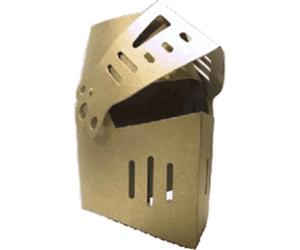 BestSaller Ritter-Helm gold - Ritterhelm PNG
