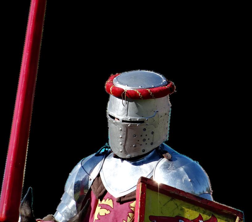 Ritter, Helm, Lanze, Rüstung, Mittelalter - Ritterhelm PNG