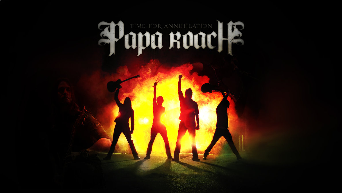 Papa Roach HD Wallpaper by mekk33 PlusPng.com  - Roach HD PNG
