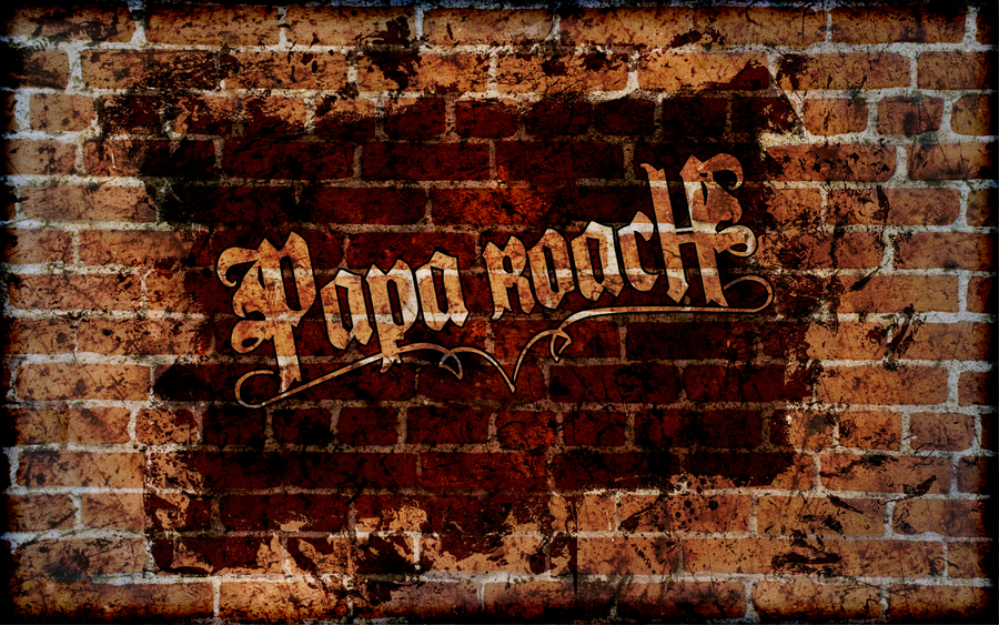 Papa Roach - Wallpaper by JookerDesign PlusPng.com  - Roach HD PNG