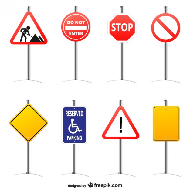 Road Sign HD PNG - 90973
