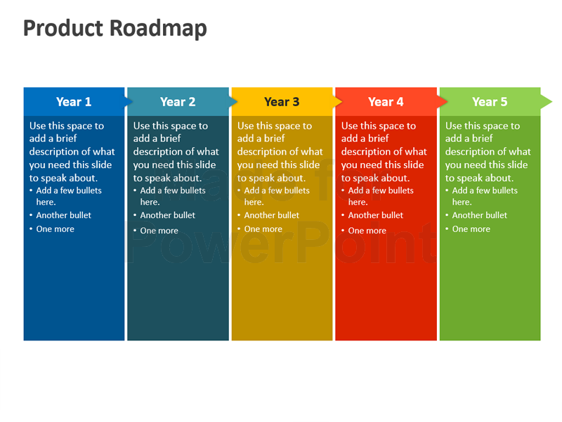 free roadmap powerpoint presentation templates product roadmap powerpoint  template editable ppt printable - Roadmap PNG Powerpoint