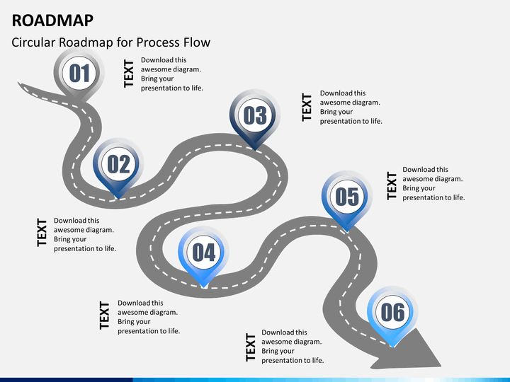 Roadmap PPT slide 1 Roadmap PPT slide 15 PlusPng.com  - Roadmap PNG Powerpoint