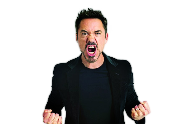 Robert Downey Jr PNG