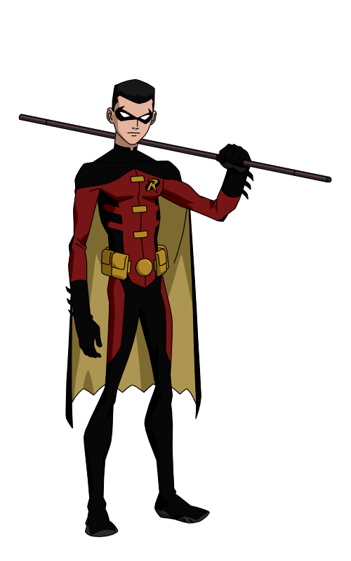 Robin ii dcu by spiedyfan-d5ffbod.png - Robin PNG