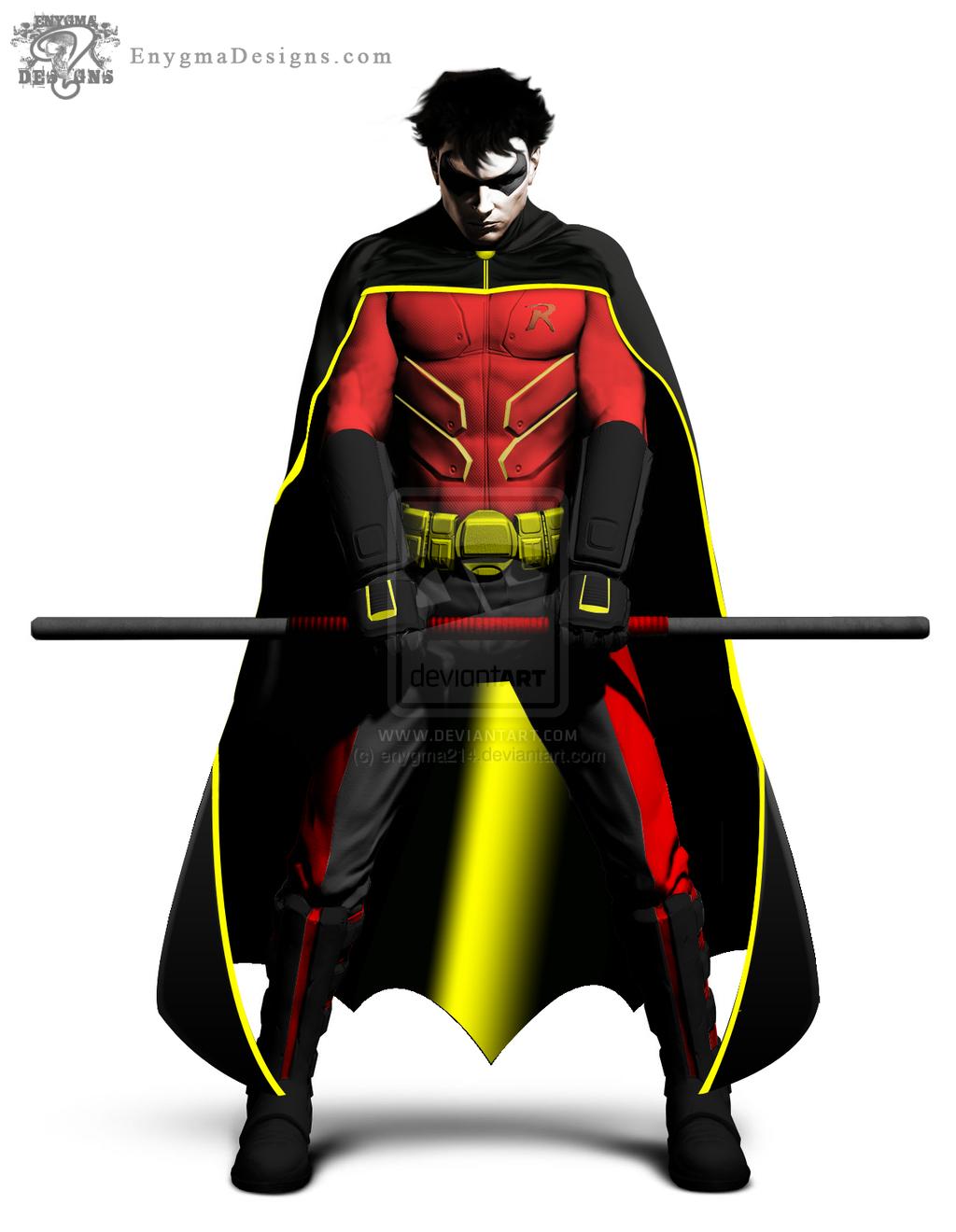 Superhero Robin PNG - 4170
