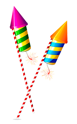 Diwali Rocket Clipart - Rocket HD PNG