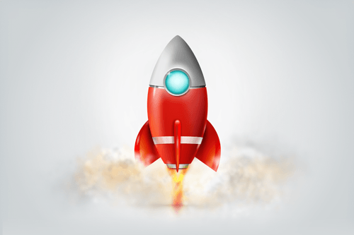 Download the layered Fireworks PNG file [Rocket-Icon-Design.fw.png - Rocket HD PNG