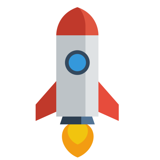 PNG ICO ICNS MORE · Rocket Black icon - Rocket HD PNG