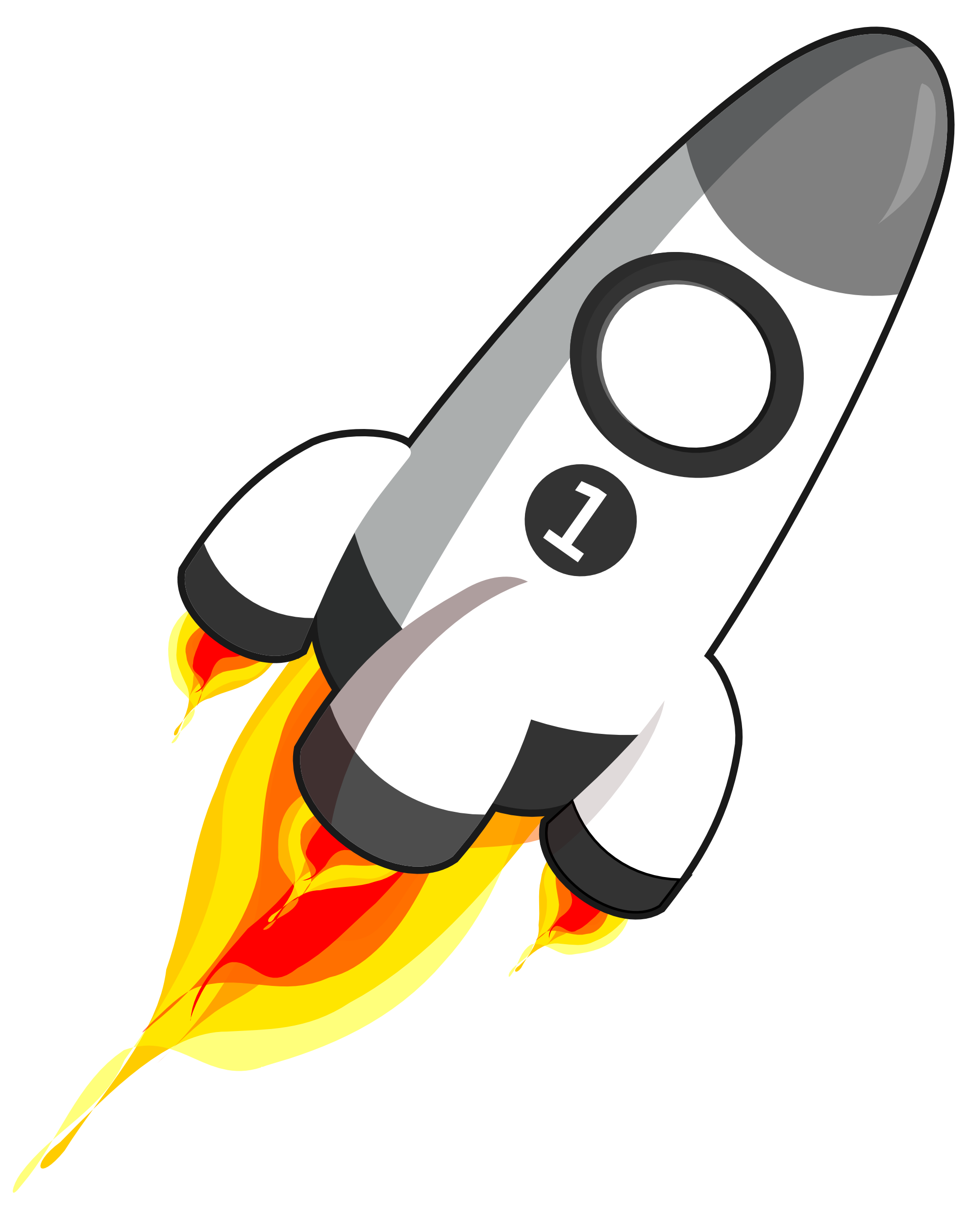 Rocket Ship PNG HD - 124237