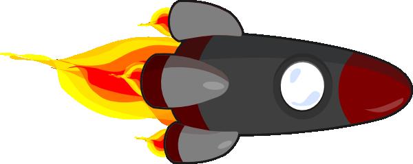 Realistic Rocket Clipart - Rocket Ship PNG HD