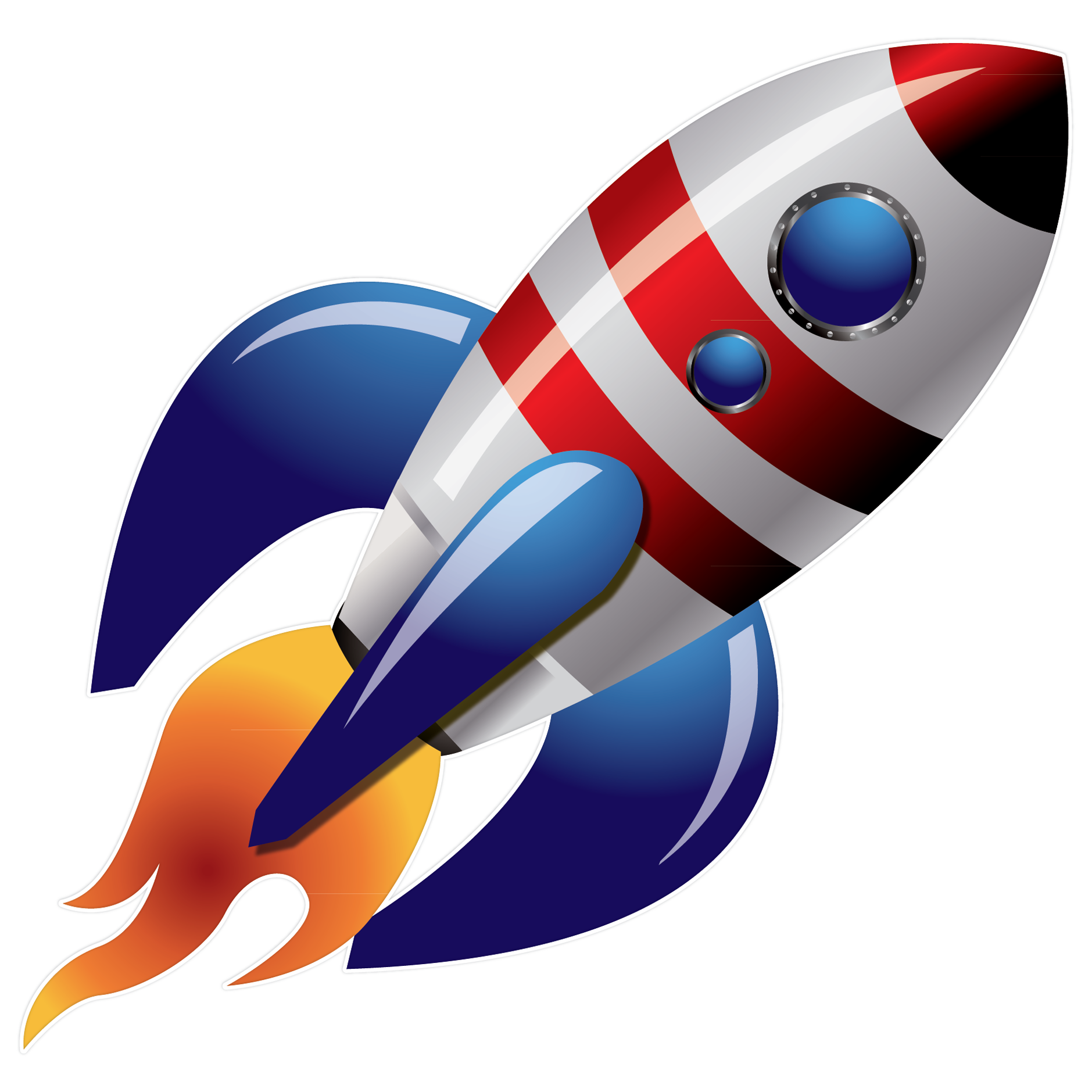 Rocket Ship PNG HD - 124230