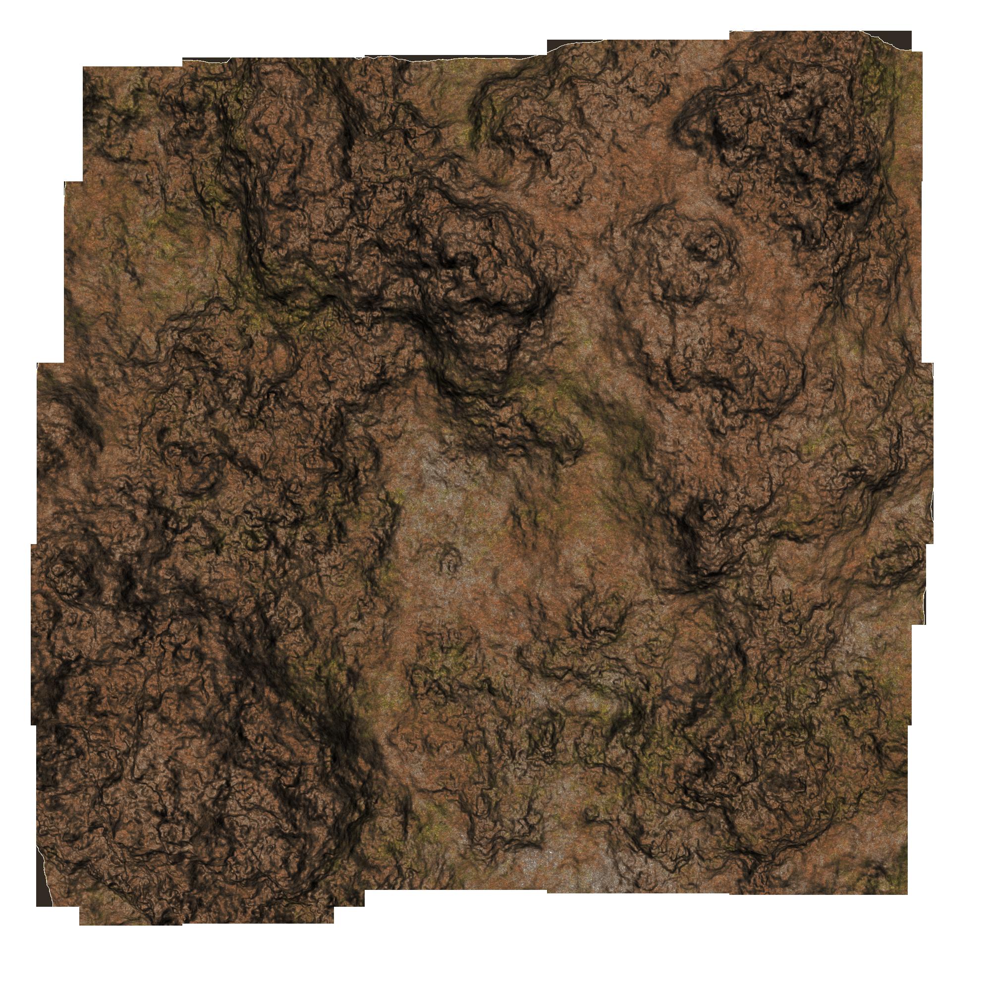Rocky Soil PNG