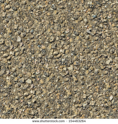 Seamless Texture of Dirty Rocky Ground. - Rocky Soil PNG