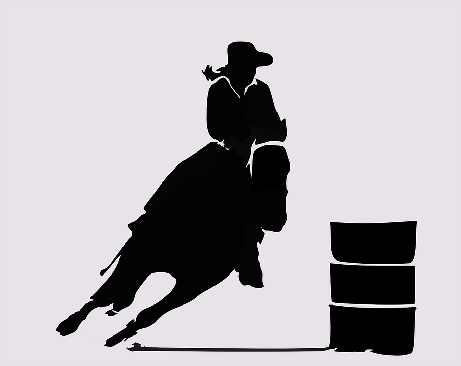 Rodeo Western Cowboy West Wild Horse Ridin - Rodeo PNG HD Free - Rodeo PNG HD