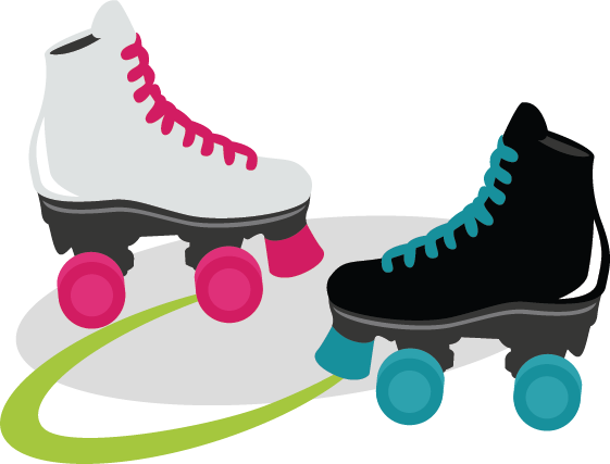 Roller Skates SVG files for scrapbooking cardmaking roller skate svg cuts  free svgs - Roller Skates PNG HD