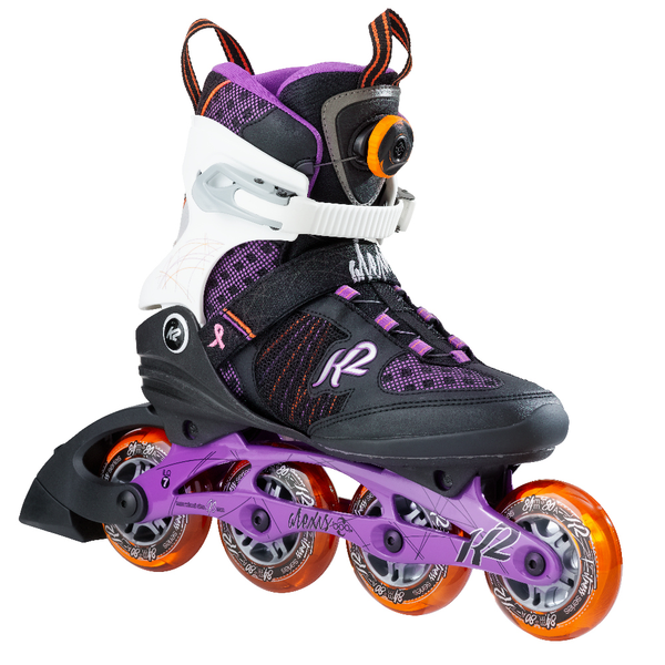 K2 Alexis BOA 17 - Rollerblades PNG