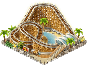 Rollercoaster PNG HD