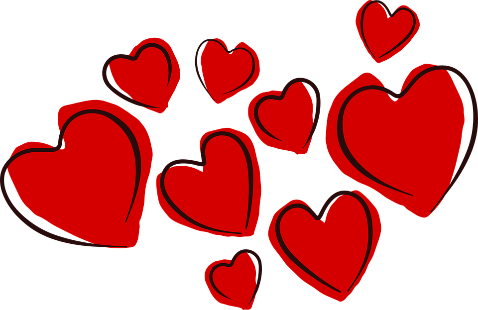 Hearts, Valentine, Love, Romance, Holiday, Celebration - Romance PNG