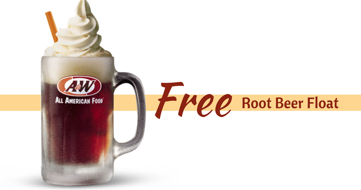 Au0026W: FREE Root Beer Float on 8/6! - Root Beer Float PNG Free