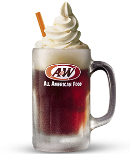 AW Root Beer Float - Root Beer Float PNG Free