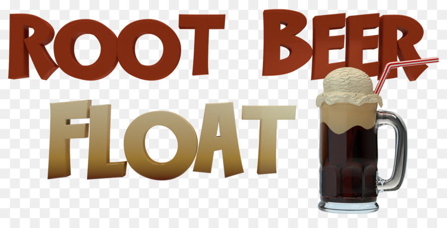 Frostie Root Beer Ice cream float - popcorn - Root Beer Float PNG Free