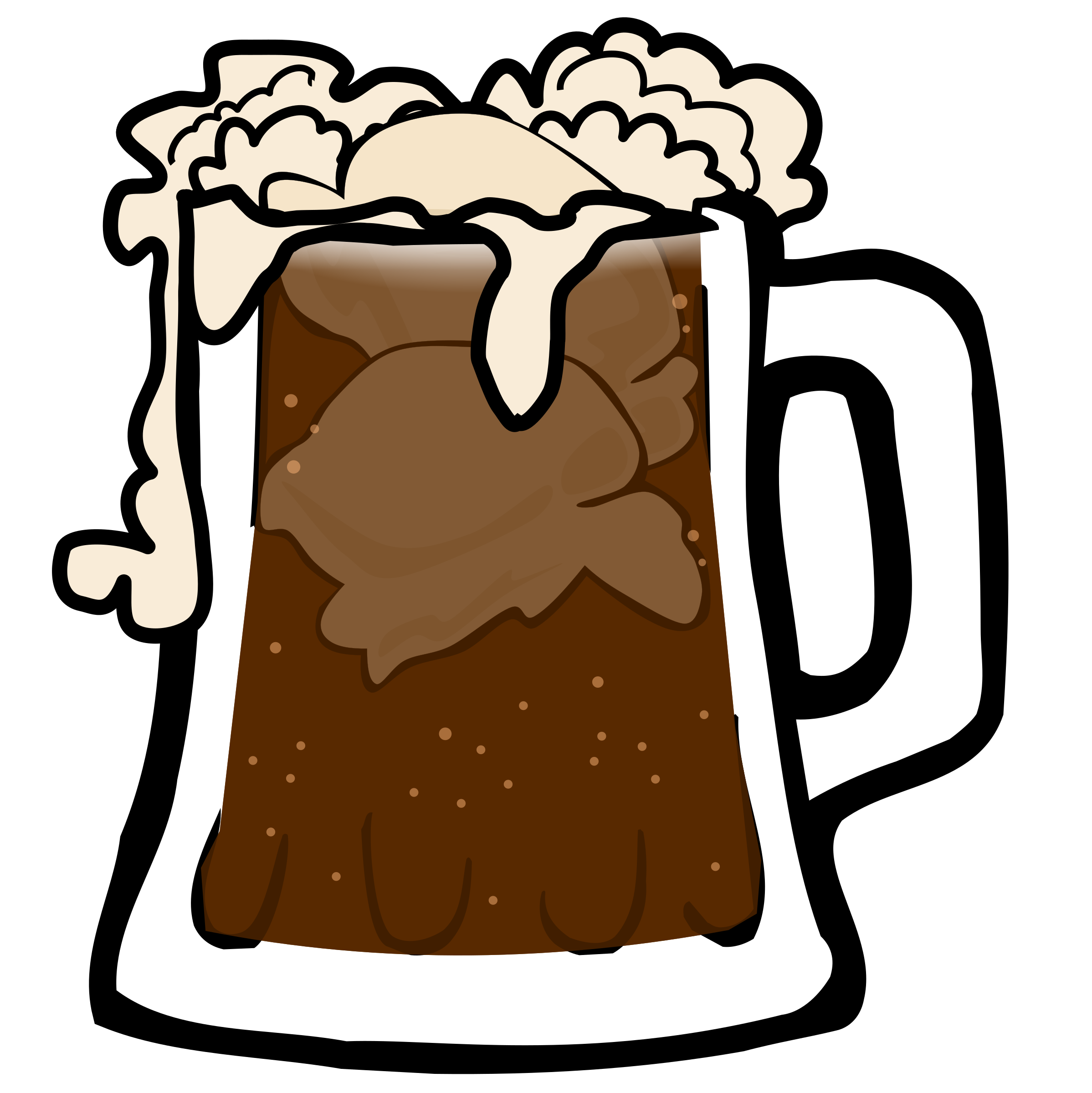 This free Icons Png design of Root Beer Float PlusPng.com  - Root Beer Float PNG Free