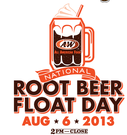 Today apparently is National Root Beer Float Day. If you live near Au0026W  Restaurant, you can get a free Root Beer Float today (8/6). - Root Beer Float PNG Free