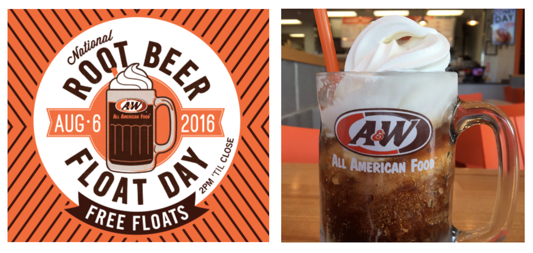 You can score a FREE Root Beer Float from Au0026W from 2 PM to Close - NO  purchase necessary! Click here for more information. - Root Beer Float PNG Free