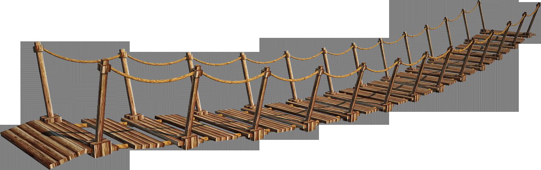 Bridge PNG Image - Rope PNG HD