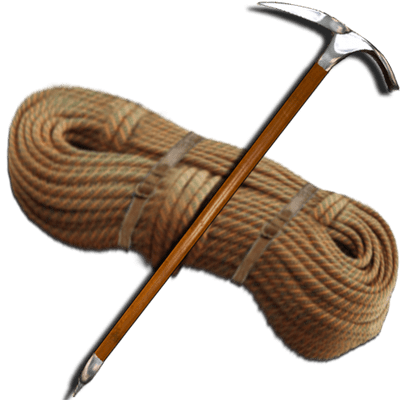 Rope and Piolet - Rope PNG HD