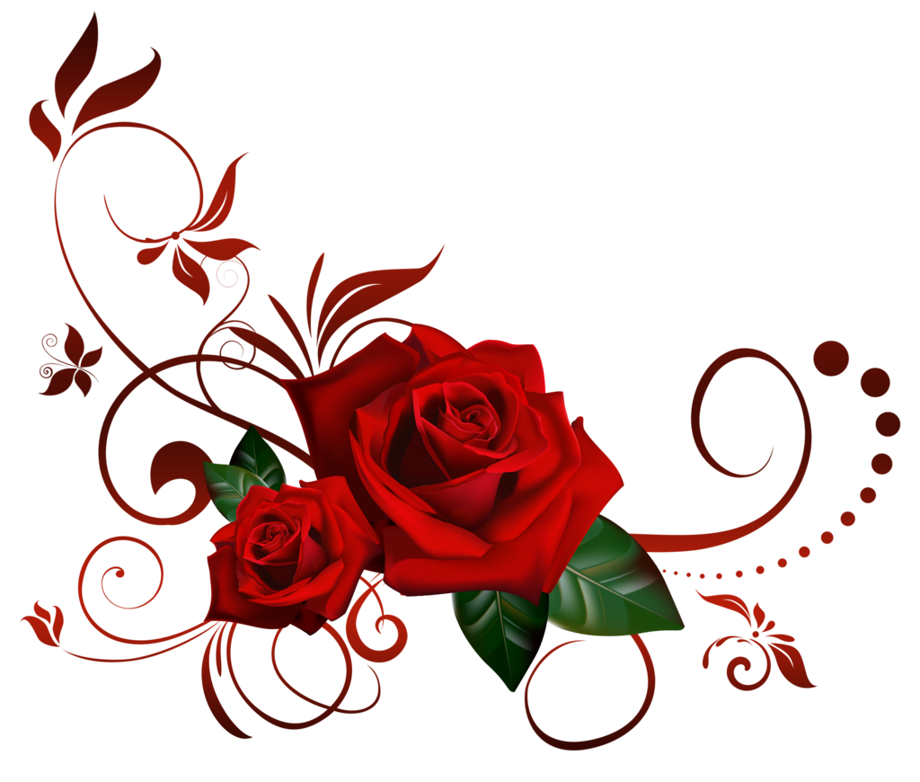 Rose Vine PNG HD