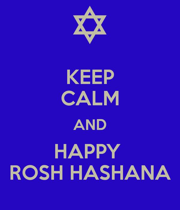 Keep Calm And Happy Rosh Hashanah - Rosh Hashanah 2015 PNG