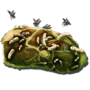 Spoiled Meat.png - Rotten Meat PNG