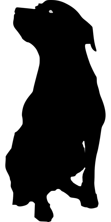 rottweiler png black and white transparent rottweiler