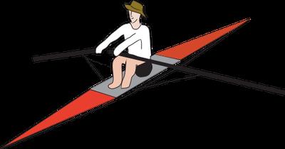 Rowing HD PNG - 119496