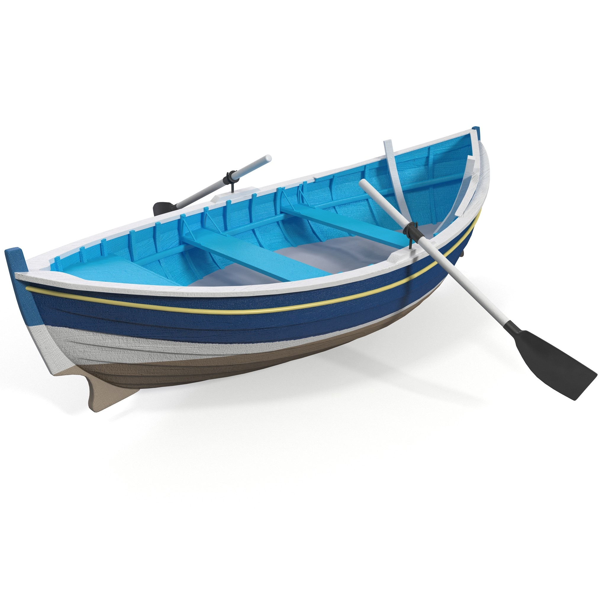 Row Boat 3D Models and Textures | TurboSquid pluspng.com - Rowing Shell PNG