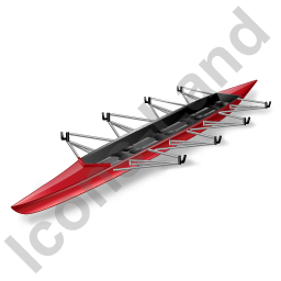 Watercraft Rowing Racing Shell Icon, PNG/ICO, 256x256 PlusPng.com  - Rowing Shell PNG