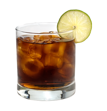 Rum And Soda Drinks