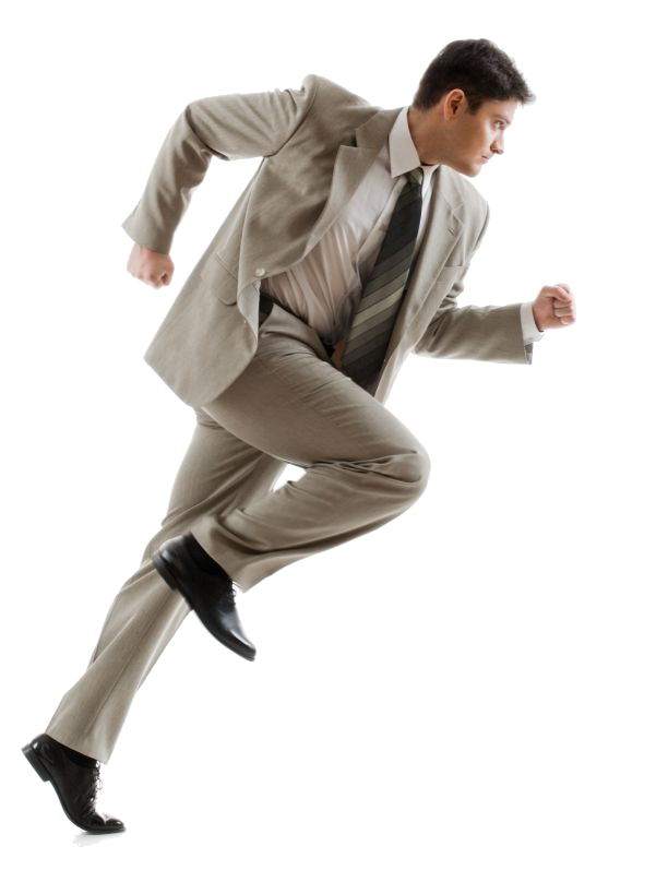 Running Person PNG HD