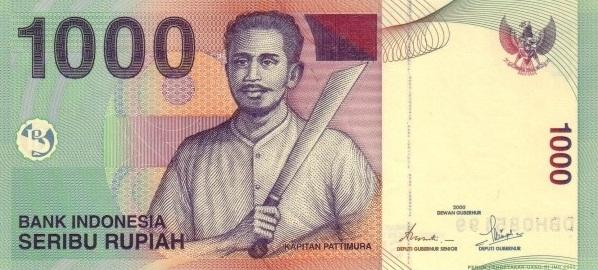 File:1000 rupiah bill 2009.jpg - Rupiah PNG