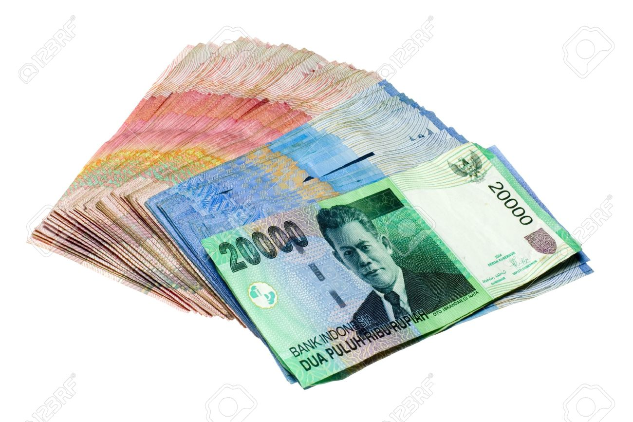 Indonesian Rupiah isolated on white background Stock Photo - 2732017 - Rupiah PNG