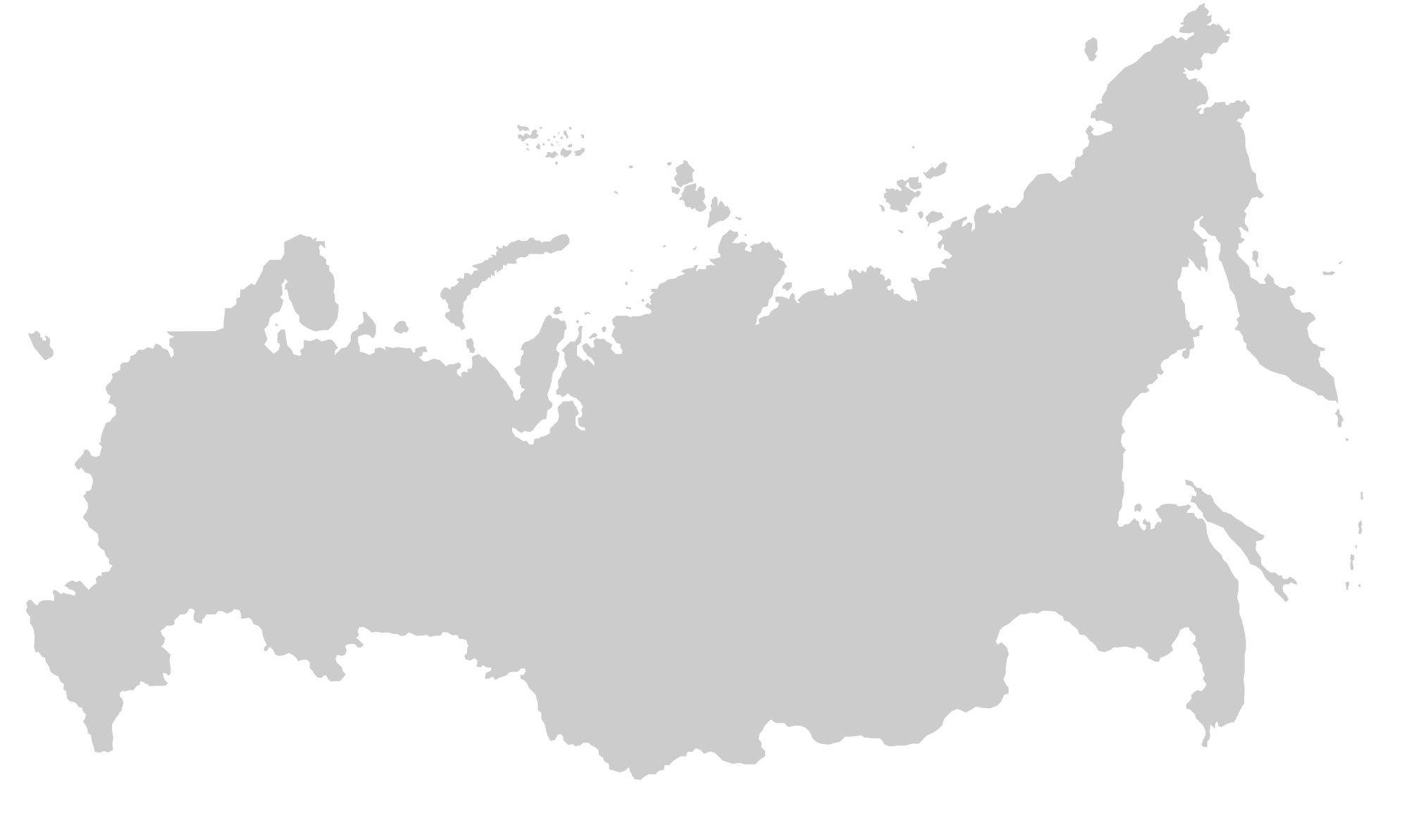 Map of Russian Outline Russia PNG Russia