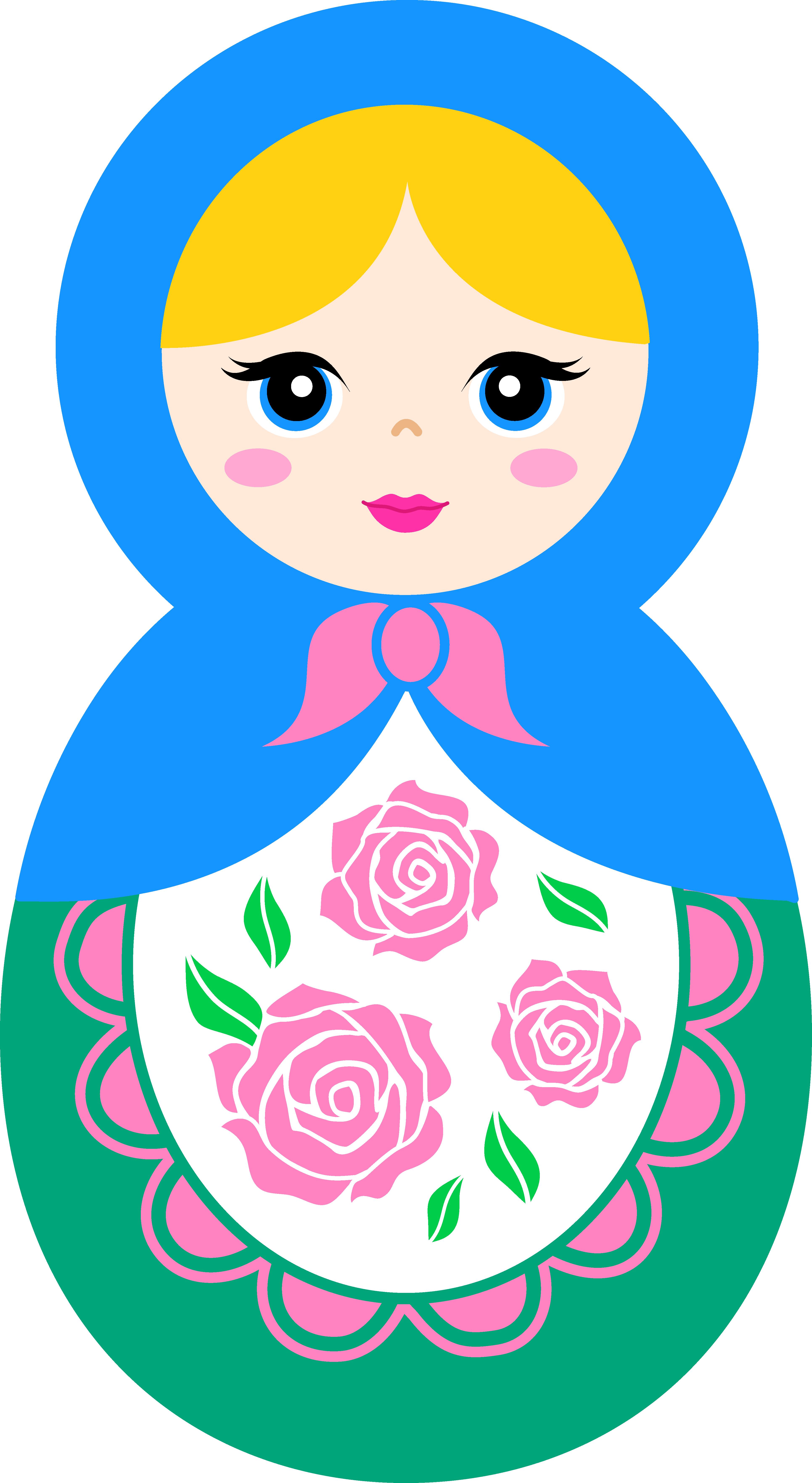 Russian Doll PNG HD-PlusPNG.com-3863 - Russian Doll PNG HD