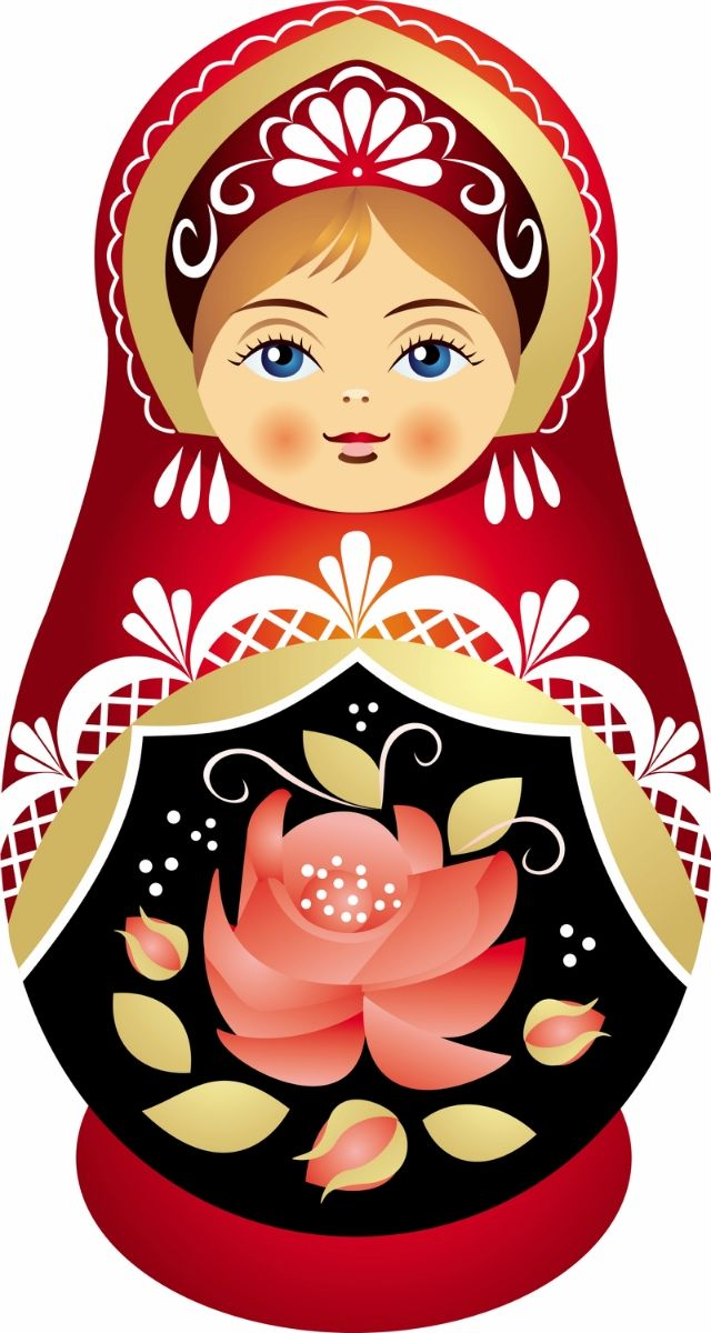 Babushka Matryoshka Russian Doll iPhone SE/5/5s Case - Russian Doll PNG HD
