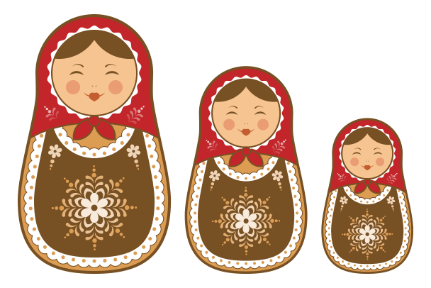 Create a Russian Doll in Illustrator final - Russian Doll PNG HD